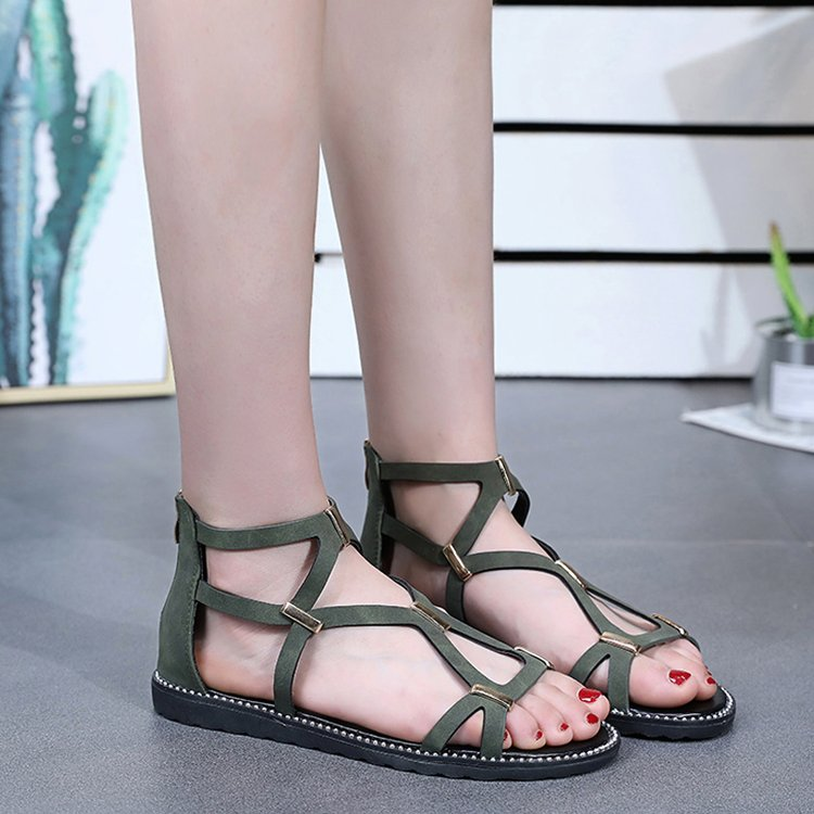 Women Gladiator Sandals Leopard Printed Open Toe Wedge Sandals Lace up Strappy Sandals Casual Summer Outdoor Beach Shoes for Women /& Girls