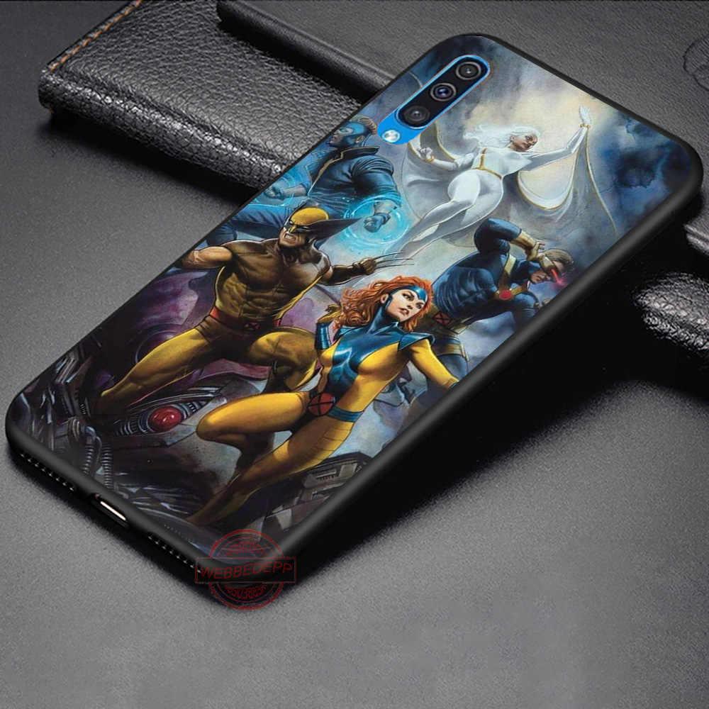WEBBEDEPP Marvel X-Men soft ซิลิโคนสำหรับ Samsung A3 5 6 7 8 9 J6 A10 A20 A30 A40 a50 A60 A70 M10 M20 30 40