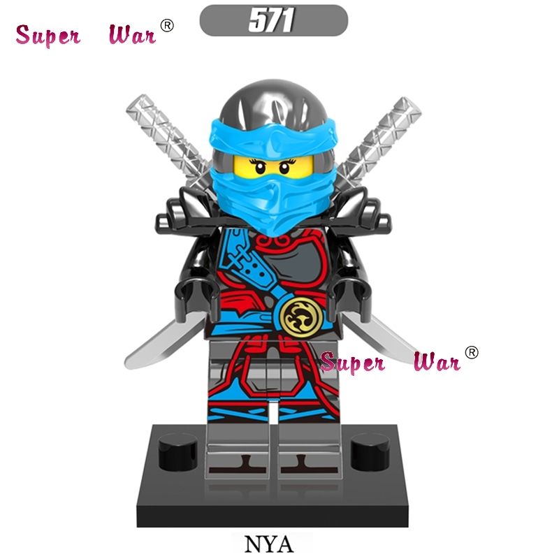 1PCS star wars super heroes marvel dc comics NINJA NYA building blocks models bricks toys for children kits