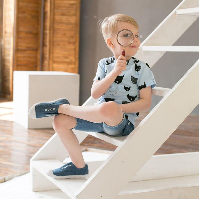 2018 New Fashion Cotton Short Sleeve Children Round Neck Printing Kids T-shirts Boys Girls Tshirts Baby Girls Clothes B009