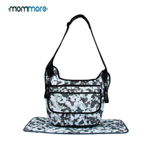 mommore Unisex Diaper Bag Baby Nappy Sling  Bags For Daddy Waterproof Mommy Stroller Organizer