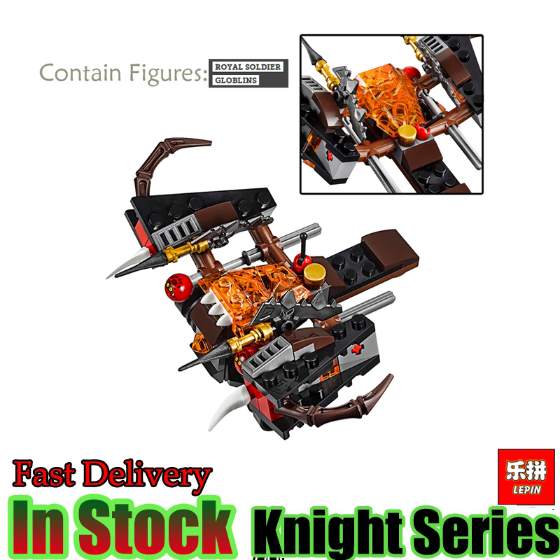 LEPIN 14020  Nexoe The Glob Lobber Set Model Nexus Knights Building Kits Blocks Bricks Toy For kids lepin 14004 knights beast master chaos chariot building bricks blocks set kids toys compatible 70314 nexus knights 334pcs set