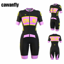 NEW 2017 Ale Cycling Jersey Sets MTB Bike Bicycle Breathable shorts Clothing Ropa Ciclismo Bicicleta Maillot One-piece garment