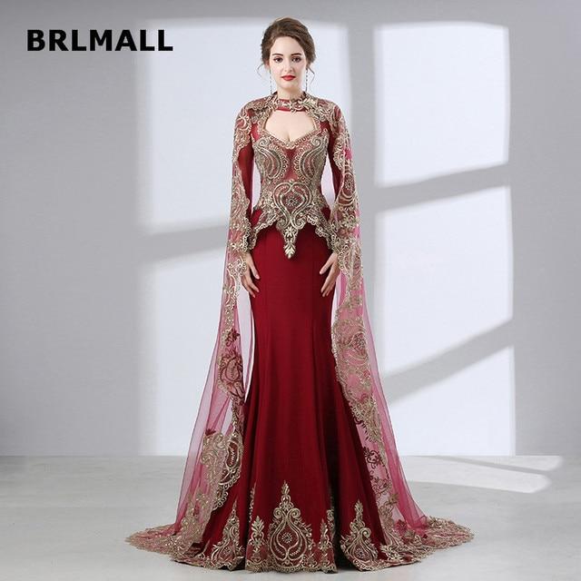 2018 Vintage India Wedding Dresses High Neck Mermaid Plus Size ...