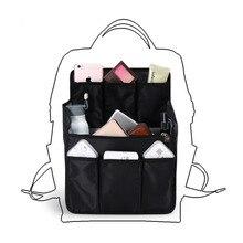 バックパック挿入袋収納袋大容量旅行用おむつ肩雑貨仕上げハンドバッグオーガナイザー