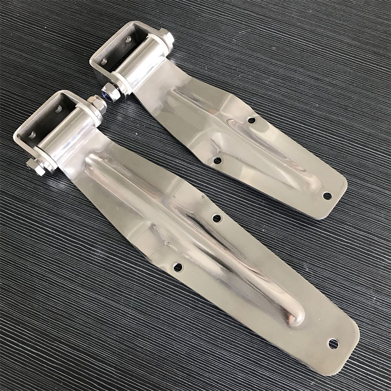 free shipping Stainless steel hinge container door hinge refrigerated cold store compartment fitting truck van express car hinge 1 pair 4 inch furniture hinge stainless steel hinge door hinge satin finish lash hinge