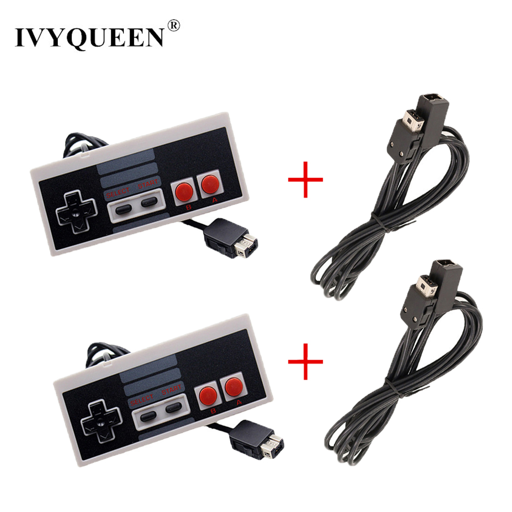 IVYUEEN Wired Controller for Nintend NES Classic Edition Mini Console Gamepad with 1.8m / 3.0m 10FT Extension Cable CordIVYUEEN Wired Controller for Nintend NES Classic Edition Mini Console Gamepad with 1.8m / 3.0m 10FT Extension Cable Cord