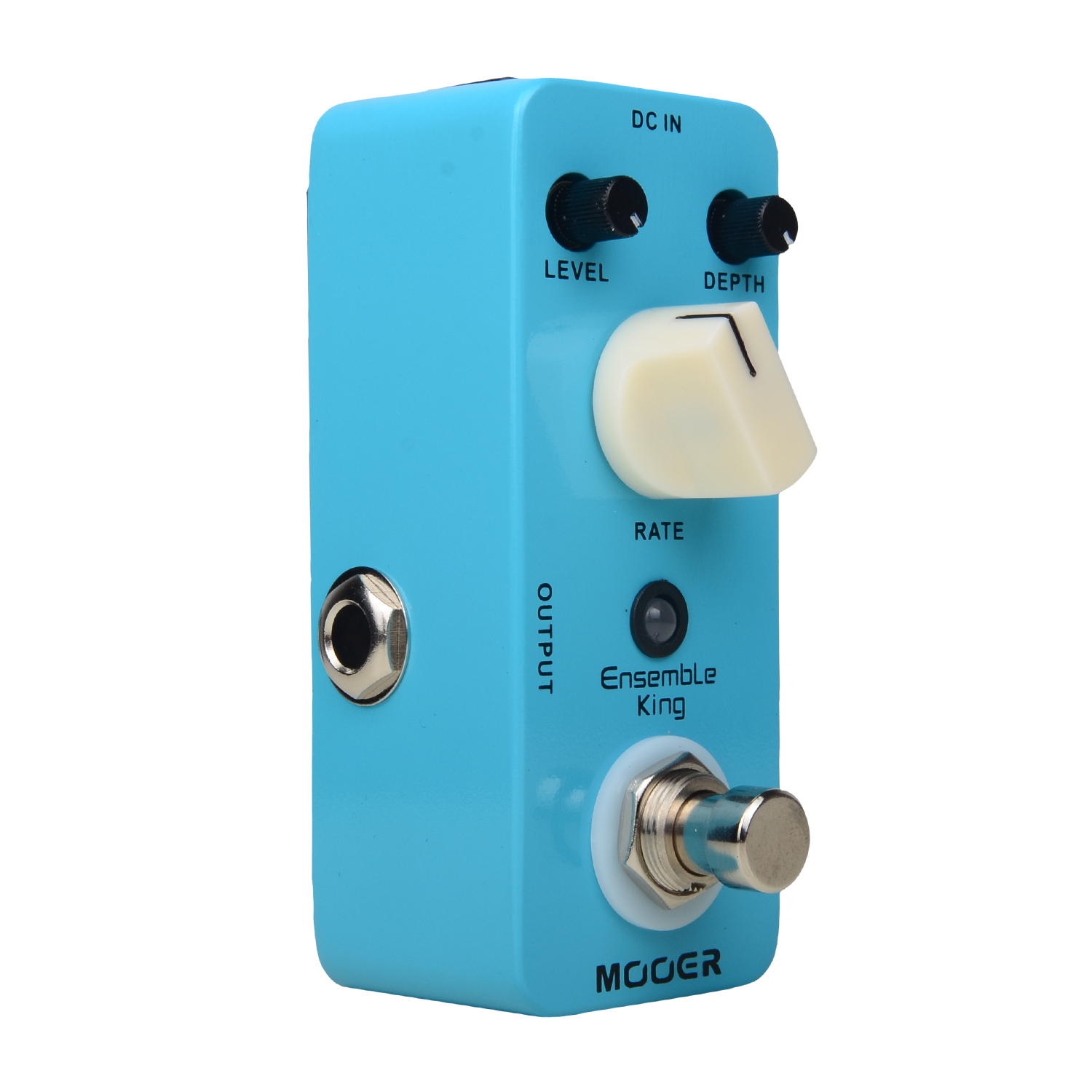 Mooer Ensemble King Chorus Effect Pedal Metal Shell True Bypass mooer ensemble queen bass chorus effect pedal mini guitar effects true bypass with free connector and footswitch topper