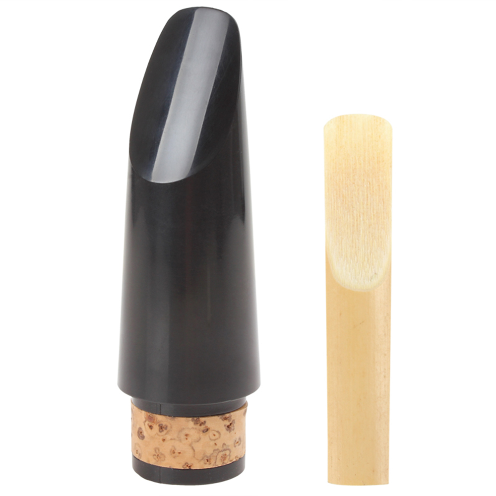 SLADE 90mm Plastic Clarinet Mouthpiece With Bamboo Reed Clarinet Replacement Parts & Accessories