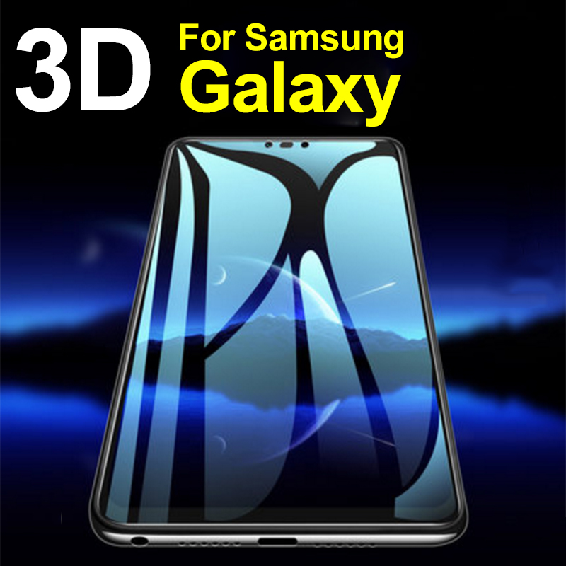 3D glass on for <font><b>samsung</b></font> s8 <font><b>s9</b></font> <font><b>plus</b></font> note8 note9 <font><b>screen</b></font> protector galaxy 9s s 8 9 note tempered glas <font><b>Protection</b></font> <font><b>Protective</b></font> Tremp image