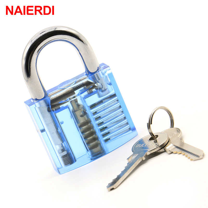 252a3334420d NAIERDI Practice Lock With Broken Key Removing Hooks Lock Kit Locksmith  Wrench Row Tension Tool Extractor Set Furniture Hardware