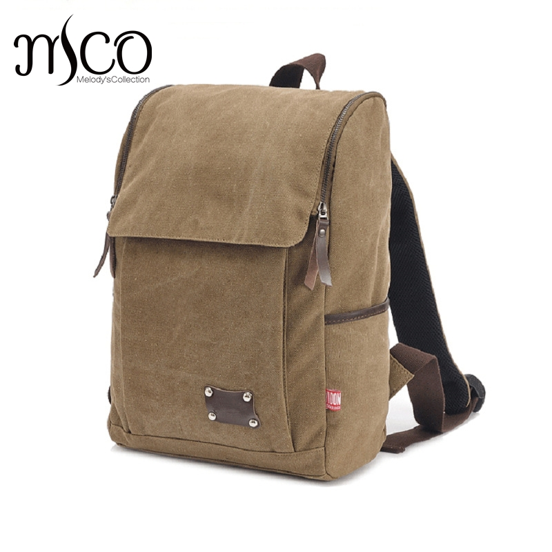 MCO Men's canvas backpack Male school Luggage Shoulder Bag Computer Backpack Functional Versatile Bag large capacity travel Bags large capacity men canvas backpack mochila laptop backpack mountaineering versatile bag travel luggage bag