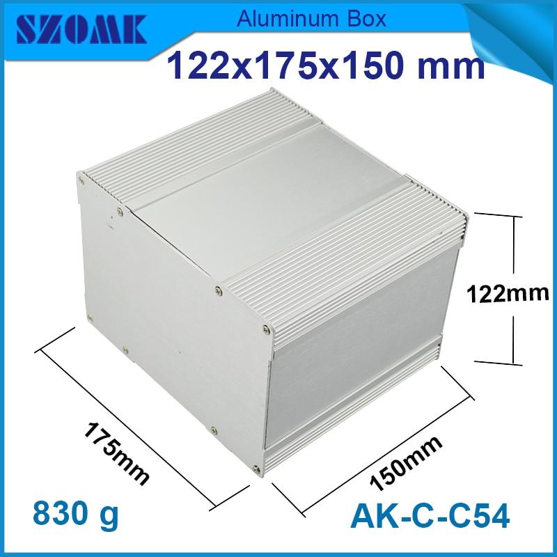 1 piece aluminium enclosure electronic project box 122*175*150mm 4.8*6.89*5.91inch aluminium heat sink junction box куплю автогрейдер дз 122 1987 года