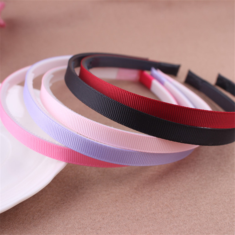 2017 New 10pcs Fashion DIY Adult Kids Hair Head Candy Color Hoop Band Headband Cloth Covered Hairband Women Hair Accessories shanfu women zebra stripe sinamay fascinator feather headband fashion lady hair accessories blue sfc12441