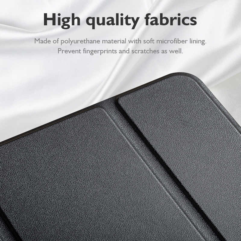 LINGCHEN Case voor iPad Air 3/mini5 Soft Smart Cover Ultra Slim Pu Leather Stand voor iPad pro 2018 tablet & e-book Case Stand
