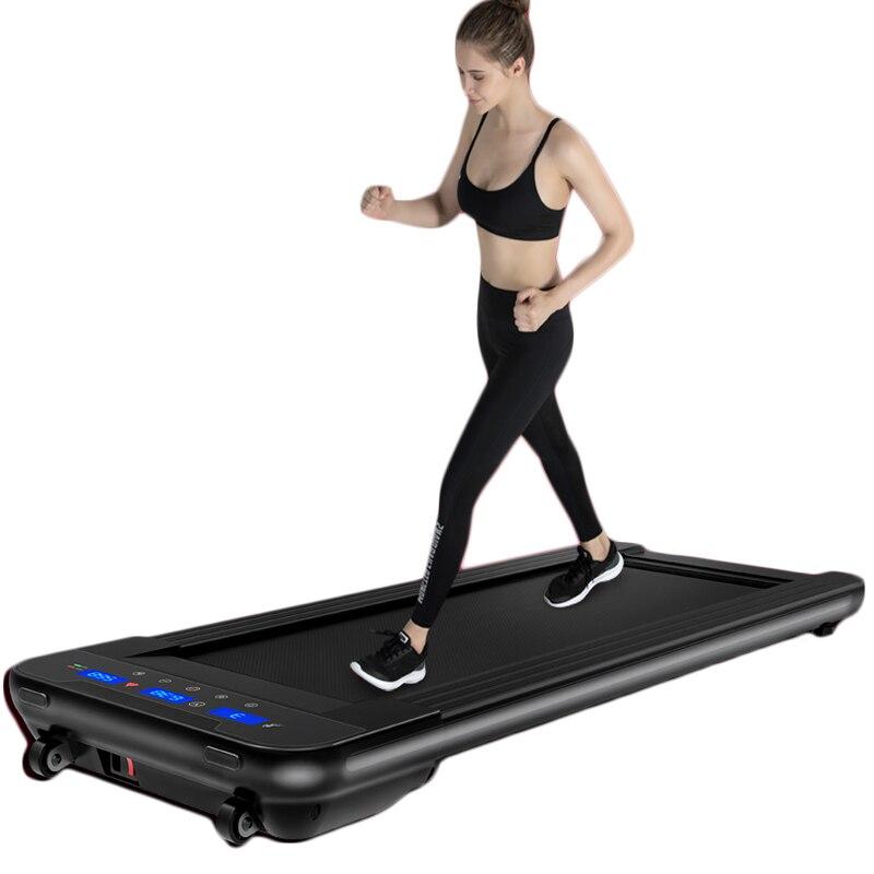 Noir télécommande électrique tapis de course Mini électrique course à pied entraînement Fitness tapis de course sport à domicile muet équipement de Fitness - 2