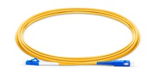 FirstFiber 5m LC UPC to SC UPC G657A Fiber Patch Cable, Jumper, Patch Cord Simplex 2.0mm PVC SM LC PC to SC PC Bend Insensitive шнур оптический соединительный sc lc upc sm 9 125 simplex 2 м