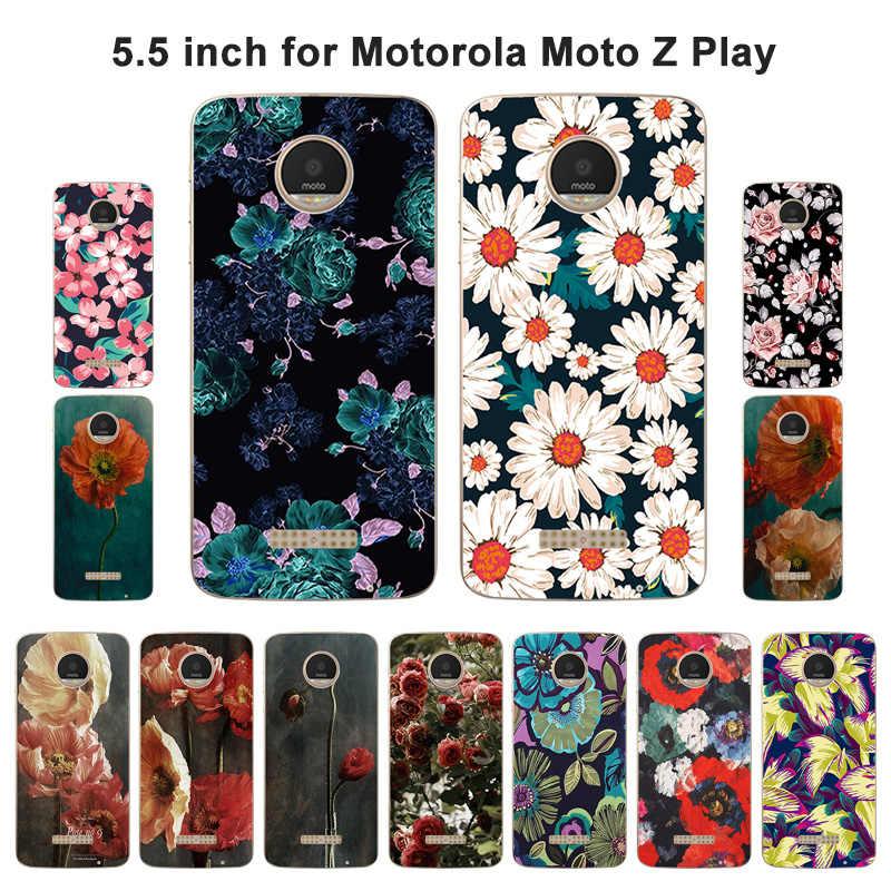 Чехол для телефона чехол для Motorola Moto Z Play Модный мягкий силиконовый чехол для Motorola Moto X 4 XT 1635-03 XT1635 МО крышку щит Капа