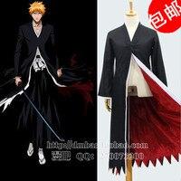 Cos Anime Bleach Urahara Kisuke Kimono Cosplay Costume Full Set