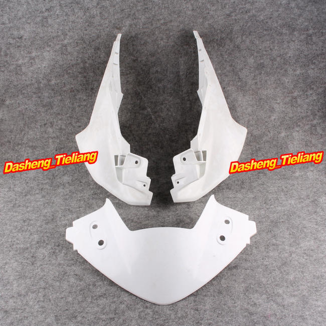 Upper Front Cover Cowl Nose Fairing for Honda CBR250 RR 2011,  Injection Mold ABS Plastic, Unpainted upper front cover cowl nose fairing for kawasaki ninja zx6r 2012 2013 injection mold abs plastic unpainted