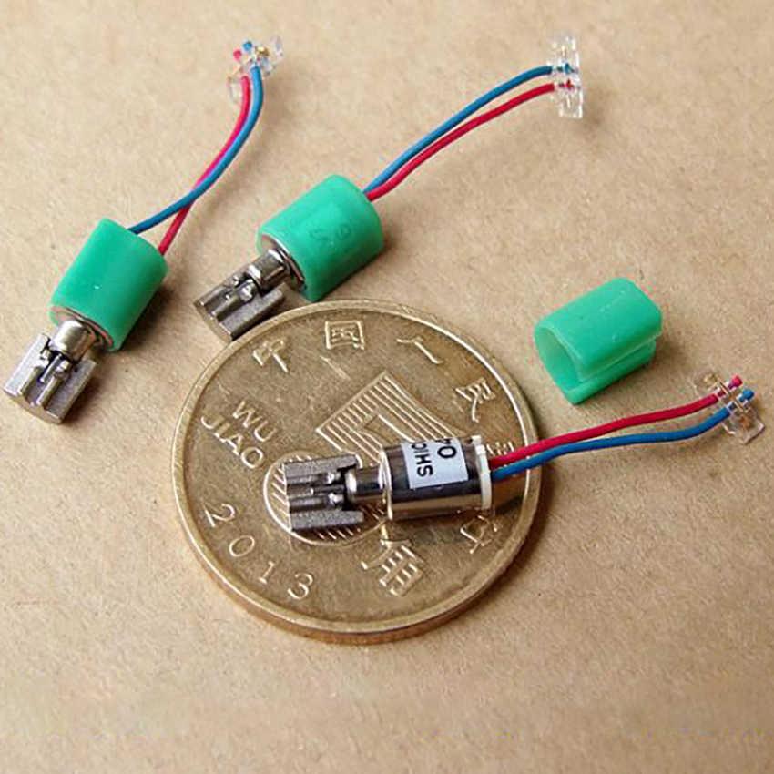 Précision cinq pôles sans noyau vibrateur moteur DC 3 V-3.7 V Miniature moteur (4*5.5 MM) Micro DC creux tasse Vibration moteur téléphone portable