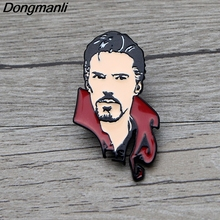 L3647 Avengers Endgame Doctor Strange Enamel Pin Brooches Cartoon Creative Metal Brooch Pins Hat Badge Jewelry 1pcs