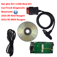 2019 Green Relay With Keygen Wow Cdp Wow Snooper Bluetooth With Box V5.0012/v5.008 And r0 Can Choose Vd Tcs Cdp Pro Plus