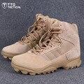 TTGTACTICAL GSG9.3 Тактические Ботинки Открытый Боевых Обувь Водоотталкивающая Нападение Армии Пустыни Сапоги Черный/Пустыня