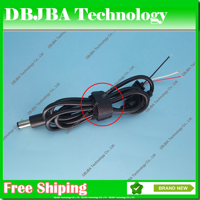 2PCS DC 7.4 x 5.0 7.4*5.0mm For HP For DELL Power Supply Plug Connector With Cord / Cable Laptop Adapter 90W 65W Charger 37pcs universal laptop ac dc jack power supply adapter connector plug for hp ibm dell apple lenovo acer toshiba notebook cable