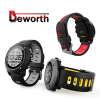 UW90 GPS Smart Watch Heart Rate Monitor Outdoor Sport IP68 Waterproof Swimming Support Bluetooth 4.0 Smartwatch for Android IOS