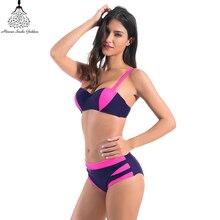 swimwear women bikinis Bodysuits Women swimwear swimming suit for women Beach bathing suit brazilian bikini mid waist swimsuit