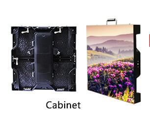 TEEHO P4.81 6pcs/lot Outdoor 500*500mm LED Display DieCasti Cabinet Panel Led Videowall Rental High Brightness