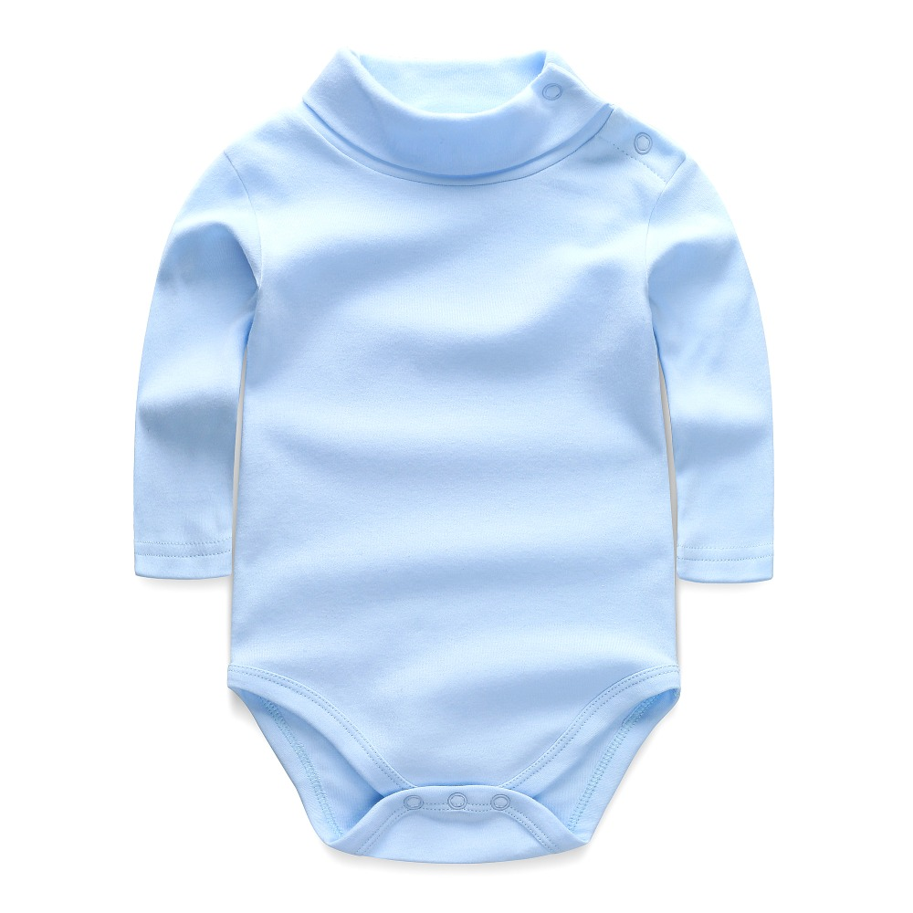 Baby Bodysuits Turn-down Collar Long Sleeve Baby Clothes Winter Infant Overalls Newborn Baby Boy Girl Clothing Set Jumpsuit