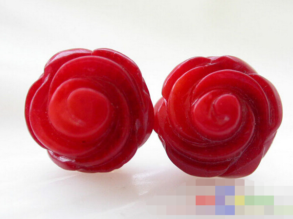 HOT SELL - > 12772 Hand-carved rose red coral stud earring -Top quality free shipping 20pcs lot 2sk1020 2sk k1020 good quality hot sell free shipping buy it direct