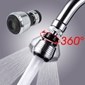 360 Rotate Kitchen Faucet Water Bubbler Swivel Head Adapter Water Saving Tap Connector Diffuser Multifunctional Faucet Nozzle