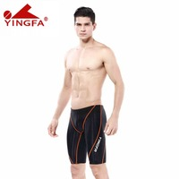 Yingfa waterproof chlorine resistant Competitive swimwear kids Boys swim briefs sharkskin racing swimsuit competition swimsuits