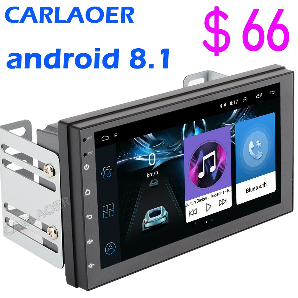 2 Din Android 8 1 Car Multimedia Video Player 7 Universal 2DIN Stereo Car radio GPS