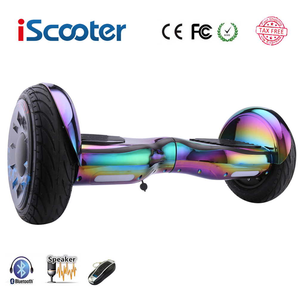 Hoverboards 10 inch Scooter Self Balance Electric Hoverboard Overboard Gyroscooter Oxboard Skateboard Two Wheels Hoverboard iscooter hoverboard 6 5 inch bluetooth and remote key two wheel self balance electric scooter skateboard electric hoverboard