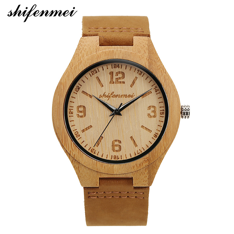 Shifenmei S2140 Antique Fashion Simple Quartz Men's Watches Women Wristwatches Leather Boys Watches Bracelet Wristband Male