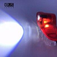 JURUS 2x LED auto höflichkeit geist-schatten-lichter willkommen Laser logo projektor tür licht Für Renault Laguna Latitude Talisman lampe