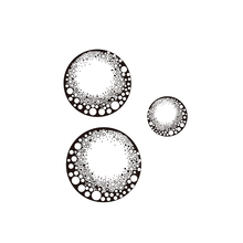 fairy orbs Silicone Transparent Rubber Stamp background skull clear Stamps DIY Scrapbooking card making