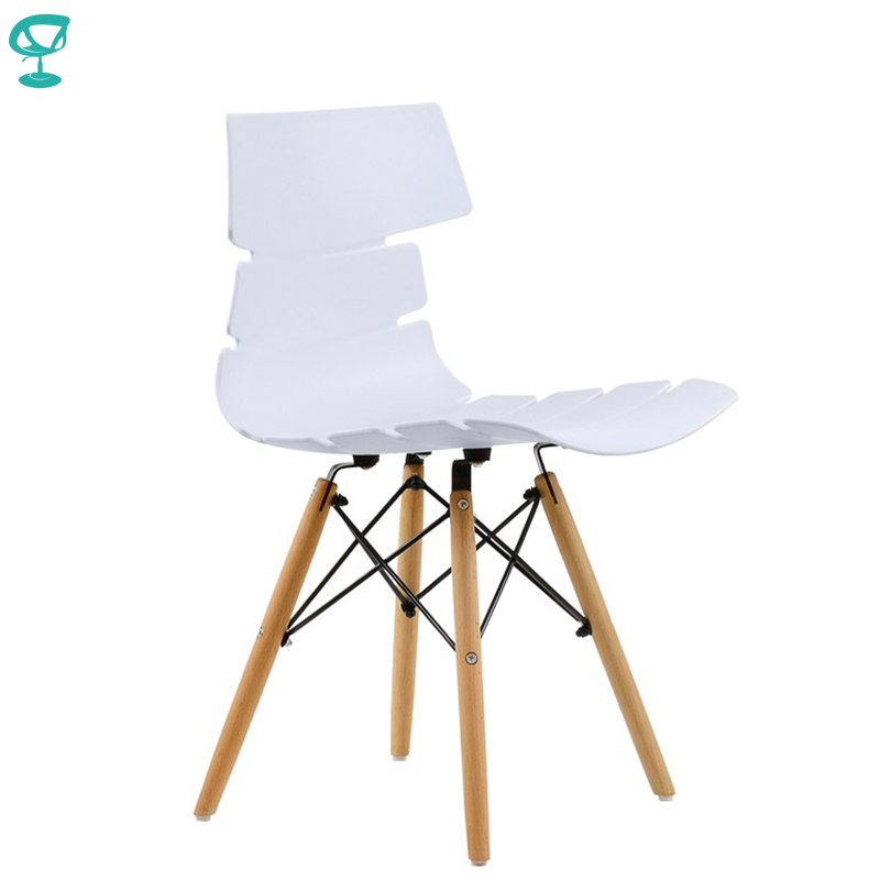 95200 Barneo N-230 Plastic Wood Kitchen Breakfast Interior Stool Bar Chair Kitchen Furniture White Free Shipping In Russia