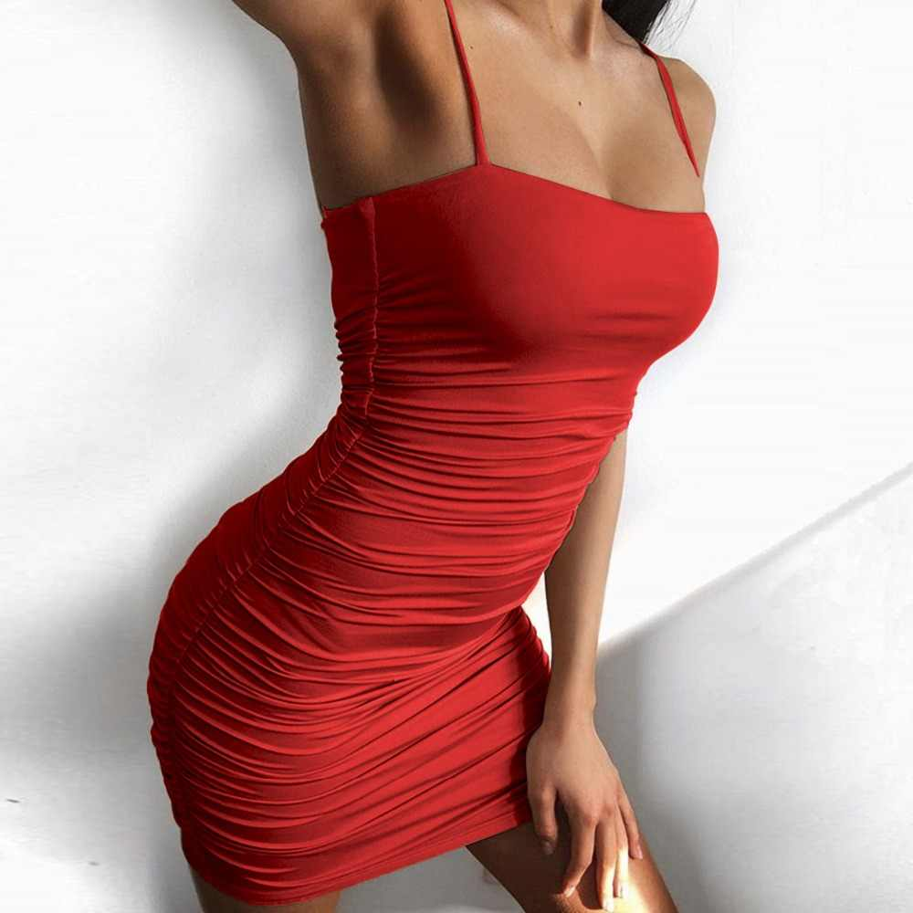 7ce4b56dff316 Detail Feedback Questions about Sexy Club Pleated Dress Women Party ...