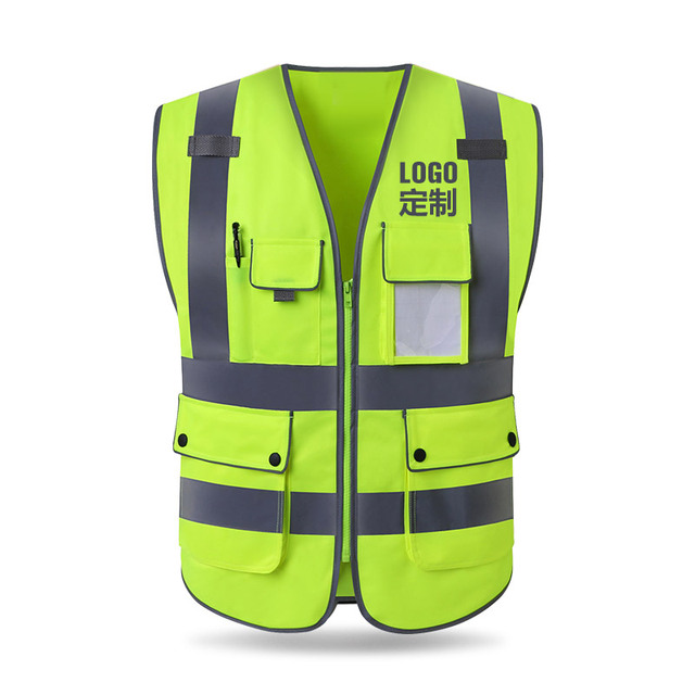Safety protective coat for construction of reflective vest construction vehicle traffic road administration fluorescent clothes