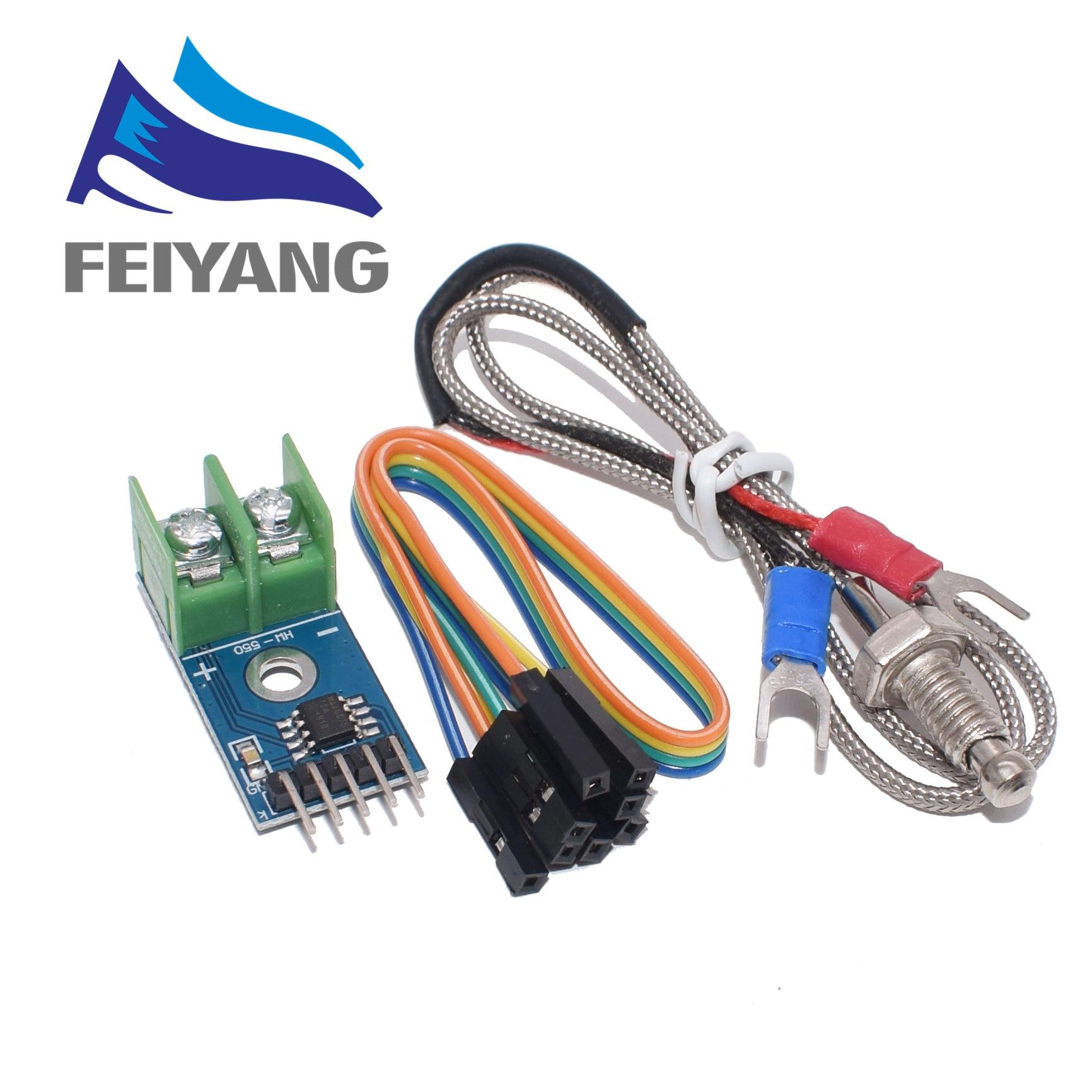 MAX6675 Module + K Type Thermocouple Thermocouple Senso Temperature Degrees Module