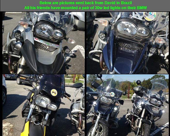 30W 12V 3000lm U2 cree motorcycle headlight 19