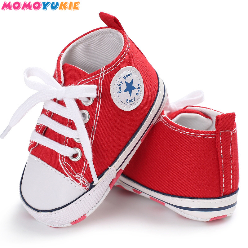 2018 Spring Autumn Canvas Toddler Baby Shoes Girls Boys ...
