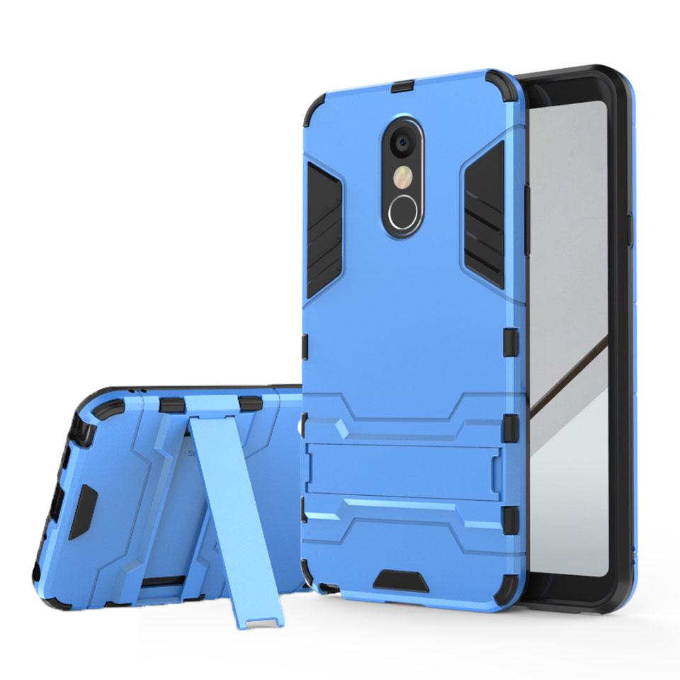 Armor Case For LG Stylo 4 3 K7 K8 Aristo K20 Plus Q6 Q8 V20 Pro Mini V34 Anti-Shock Silicone + Plastic Hybrid Stand Phone Case