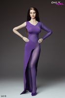 1/6 Women's Long Skirt Dress Set Sexy One piece Lace Dress for 12 Female Large Bust PH Dol Figure Body Accessories