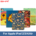 Sales!!!Magnetic Open Close Screen Wake up Sleep Flip PU Leather case For new ipad3 ipad4 PU Smart Stand Holder Cover